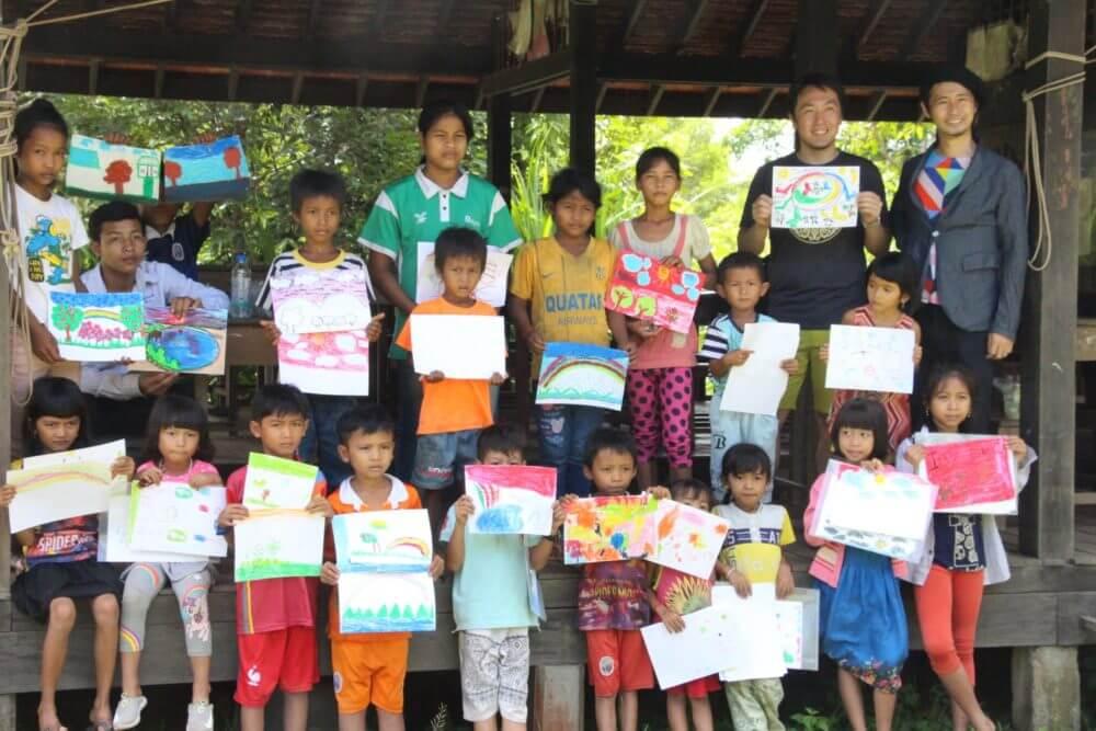 Cambodia art カンボジア 美術 支援
